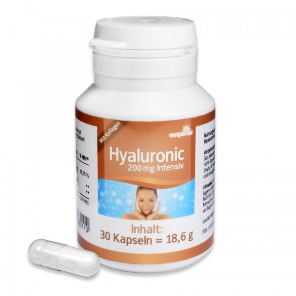 Hyaluronic 200 mg intensiv - mit Kollagen