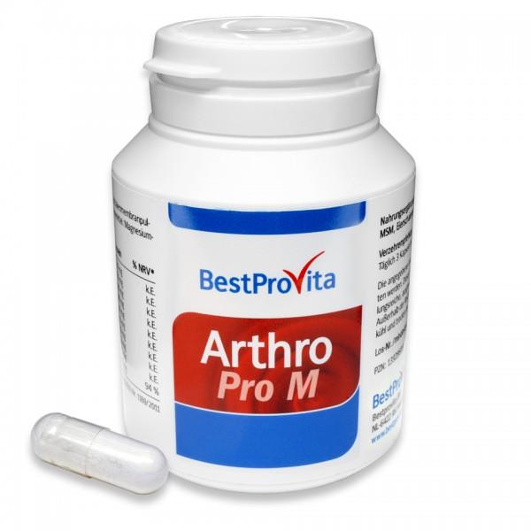 Arthro Pro M mit MSM, L-Methionin und Eierschalenmembran-Pulver